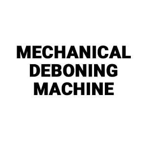 Koncept Tech mechanical deboning machine