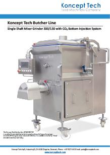 Koncept Tech single shaft mixer grinder